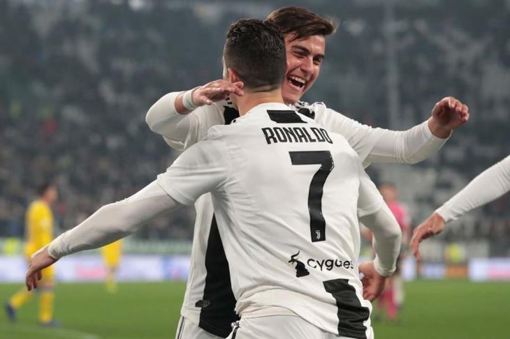 يوفنتوس يقسو على فروزينوني بثلاثية نظيفة في الدوري الإيطالي