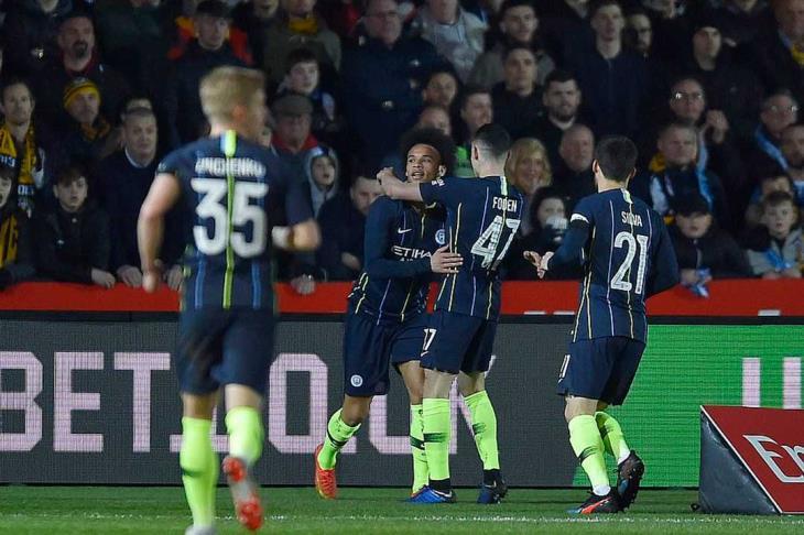 مان سيتي يتأهل لربع نهائي كأس الاتحاد بفوز سهل على نيو بورت
