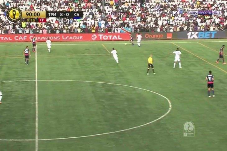 مازيمبي يسحق الإفريقي بثمانية أهداف بدوري الأبطال (فيديو)