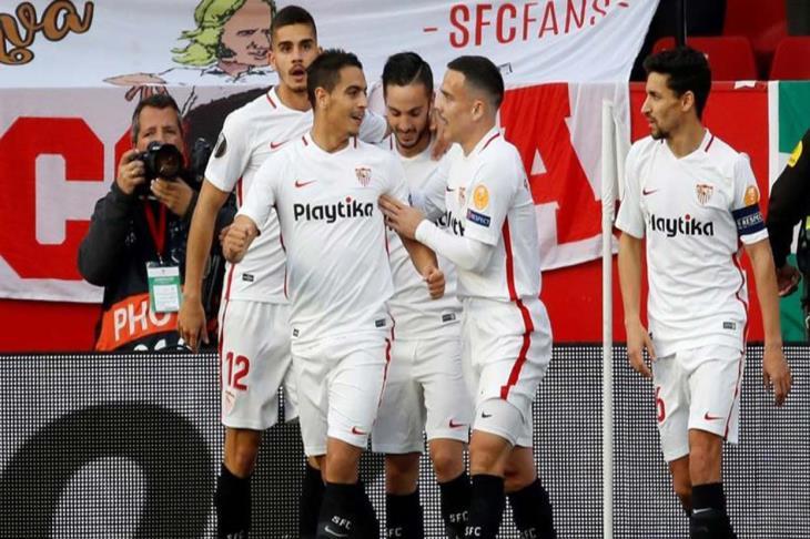 أشبيلية يداوي جراحه الأوروبية على حساب إسبانيول بالدوري الإسباني