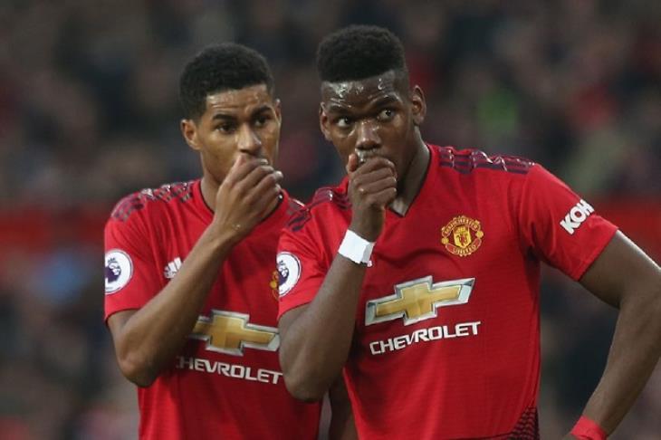 نجوم مانشستر يونايتد يرفضون تسديد بوجبا ركلات الجزاء