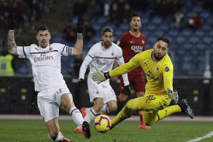 تعادل ميلان وروما في الدوري الإيطالي