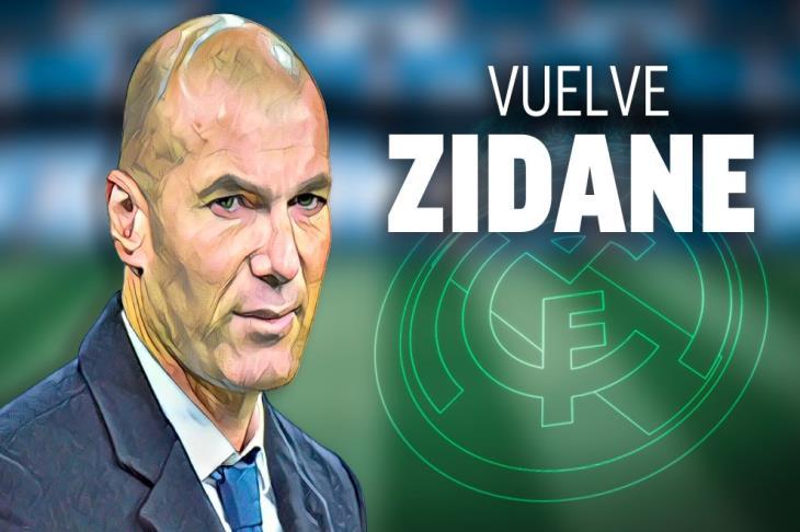 """""""يولد من جديد"""".. كيف تناولت صحف أوروبا عودة زيدان إلى ريال مدريد؟"""