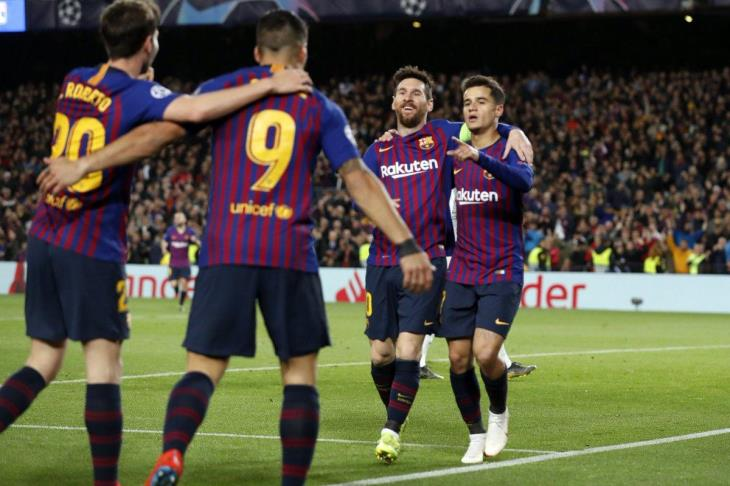 رئيس برشلونة: هدفنا الثلاثية.. نحتفل في هدوء.. ولدينا تحدي كبير أمام ليفربول