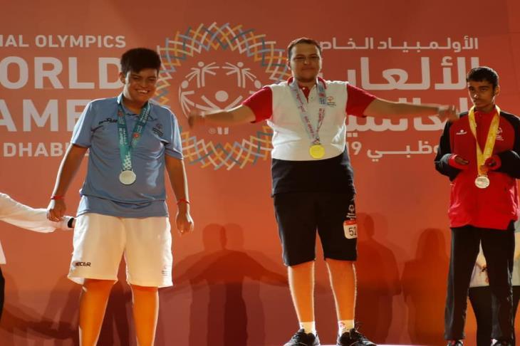 شريف ندا يتوج بالميدالية الذهبية الأولى لمصر في الأوليمبياد الخاص