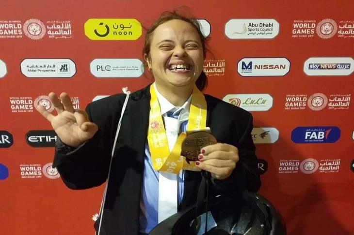 مريم عادل تقتنص برونزية الفروسية في الأوليمبياد الخاص