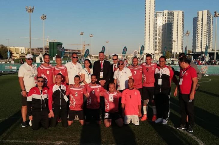 تتويج جديد.. مصر تحصد ذهبية الأوليمبياد الخاص في كرة القدم الخماسية
