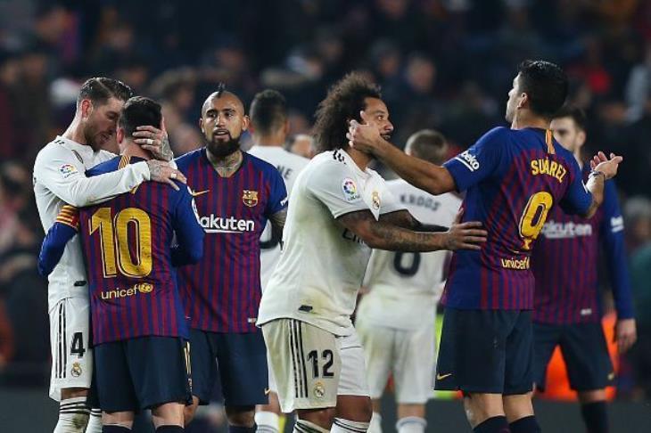 برشلونة وريال مدريد في اختبار صعب قبل الكلاسيكو
