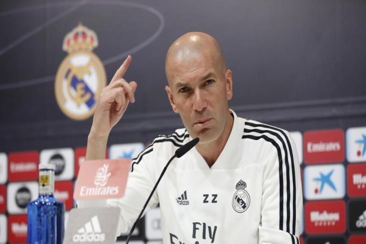 زيدان: لست قلقا من نتائج ريال مدريد