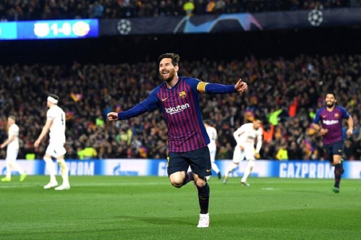 ميسي يحكم.. برشلونة إلى نصف نهائي الأبطال بثلاثية في يونايتد