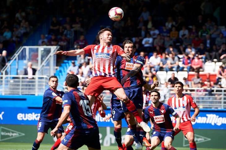 أتلتيكو مدريد يهزم إيبار في الليجا