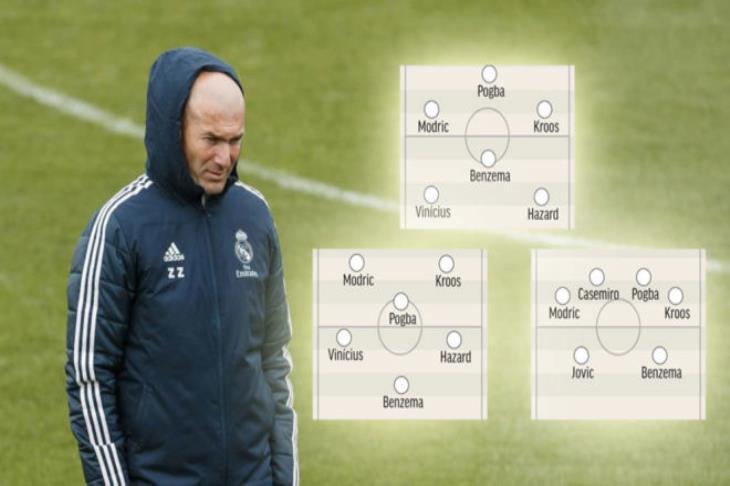 تحليل.. بعد تأكيد زيدان على تغيير طريقة اللعب.. كيف يظهر ريال مدريد الموسم المقبل؟