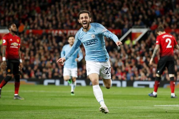 مانشستر زرقاء.. سيتي يسقط يونايتد ليستعيد صدارة البريميرليج من ليفربول
