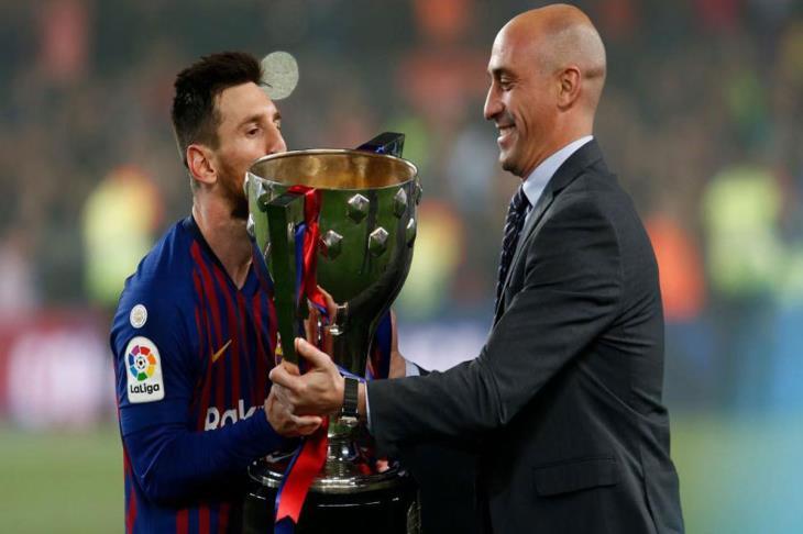 رئيس رابطة الدوري الإسباني: ميسي الأفضل في تاريخ الليجا