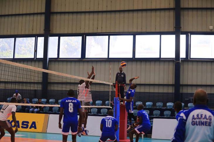 كرة طائرة.. الخدمات العامة يحقق فوزه الأول ويٌقصي فاج من البطولة الأفريقية