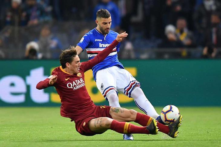 قبل جولة من النهاية.. روما يسقط أمام سالولو ويُضعف فرص تأهله لدوري الأبطال