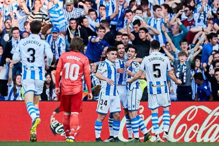 سوسييداد يلدغ مايوركا.. وتعادل إسبانيول وألافيس بالدوري الإسباني