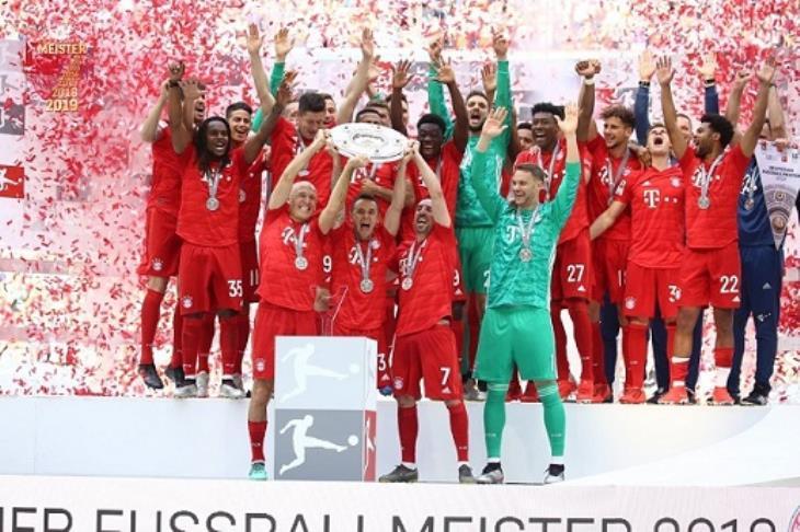 البوندسليجا تسجل رقمًا قياسيًا في الموسم المنقضي