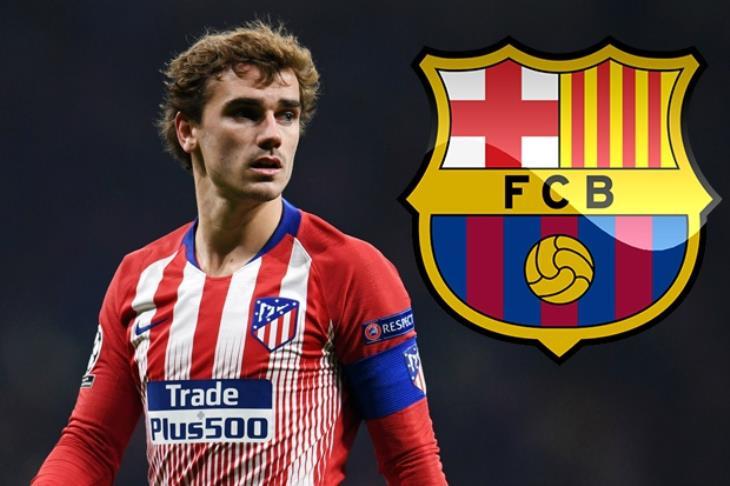 تيليجراف: برشلونة سيعلن عن التعاقد مع جريزمان مطلع يوليو