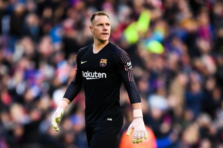 رسميًا.. برشلونة يفقد تير شتيجن أمام فالنسيا في نهائي الكأس