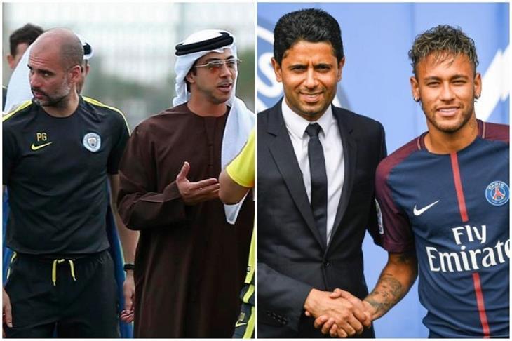 تقرير.. بن زايد ثالثا والخليفي عاشرا.. من هم أغنى أغنياء عالم كرة القدم؟