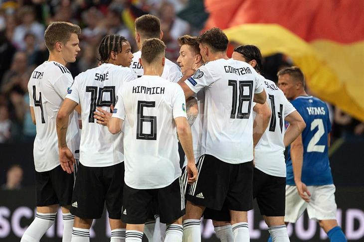 ألمانيا 8-0 إستونيا.. الماكينات تقدم درسًا في فنون الكرة بتصفيات يورو 2020