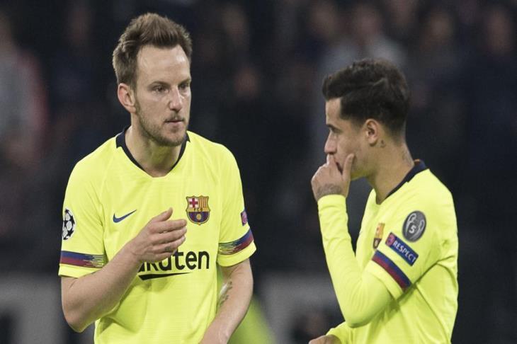 تقارير: مانشستر يونايتد يرغب في ضم كوتينيو وراكيتيتش لتعويض الرحيل المحتمل لبوجبا