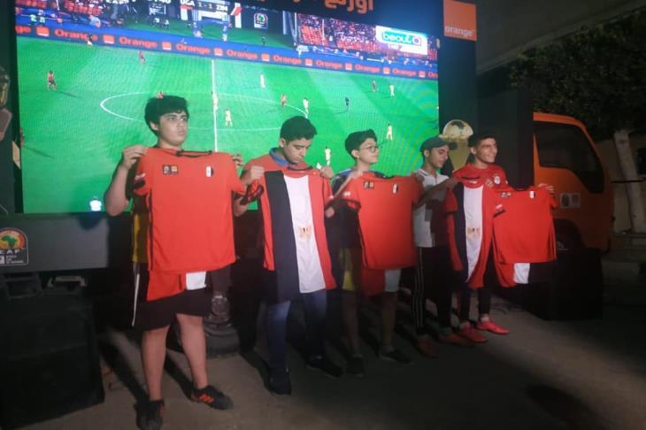 اورنچ تعد مناطق لمشاهدة مباراة مصر