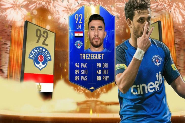تريزيجيه ضمن فريق الموسم بالدوري التركي بلعبة FIFA19