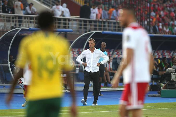 رينار عن إقصاء المغرب: سأحمي اللاعبين.. وعلينا تحمل مسؤولية كل شيء