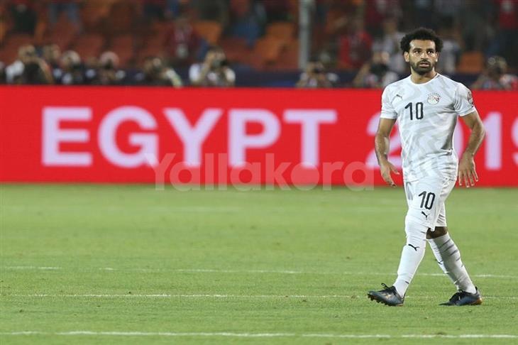 محمد صلاح يُغادر معسكر المنتخب