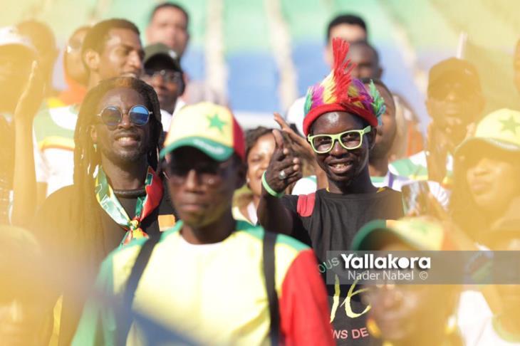 بالصور.. طقوس وأجواء ما قبل مباراة السنغال وبنين