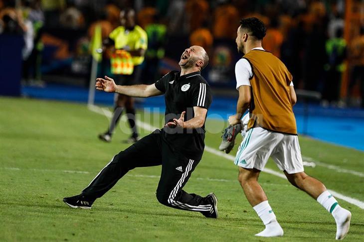 بلماضي: النهائي نفوز به ولا نلعبه.. وفقدت الكثير من شعري في كأس الأمم