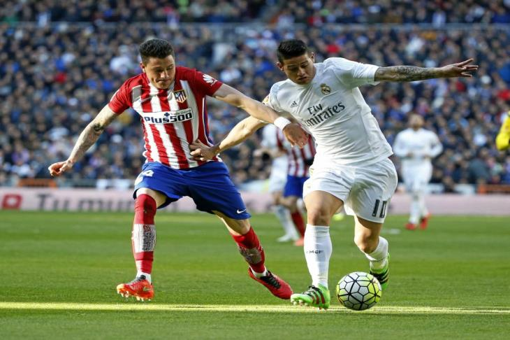 تقارير: خاميس رودريجيز قريب من الانتقال لأتليتكو مدريد