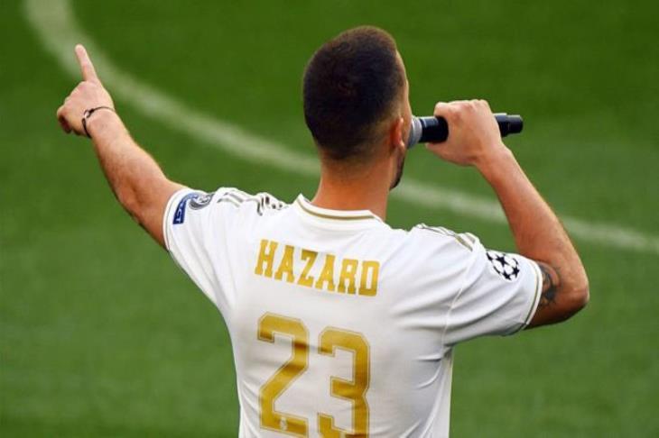 تقارير: هازارد يرغب في ارتداء قميص بيكهام في ريال مدريد
