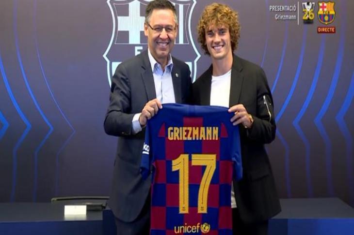 برشلونة يعلن.. كيف تم تمويل صفقة جريزمان؟