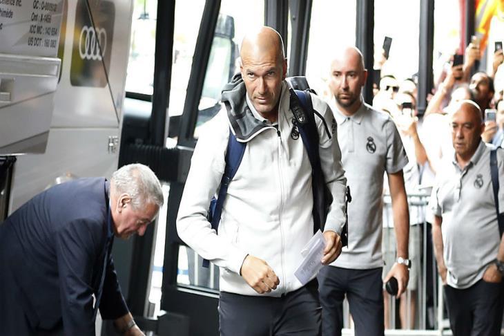 ماركا: زيدان يعود لقيادة معسكر ريال مدريد في كندا