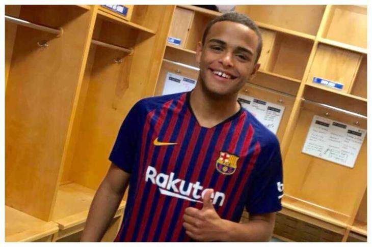 قصة طارق الدالي لاعب برشلونة الذي تعاقد معه الاتحاد السكندري