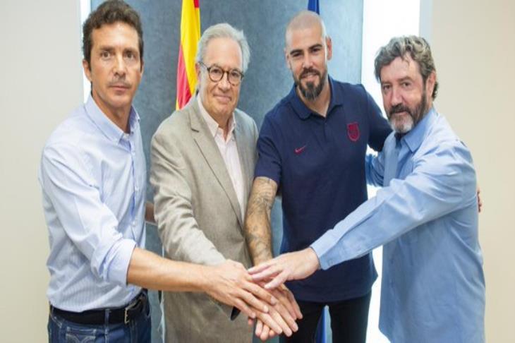 رسميا.. عودة الأسطورة.. فالديز مدربا لشباب برشلونة