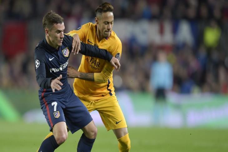 جريزمان: انتقال نيمار إلى برشلونة سيكون صعباً