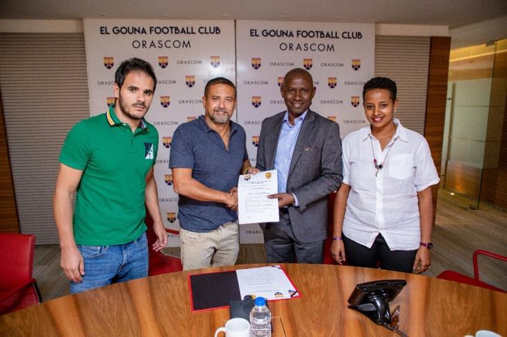 بالصور.. الجونة يعلن توقيع اتفاقية شراكة مع كمبالا سيتي الأوغندي