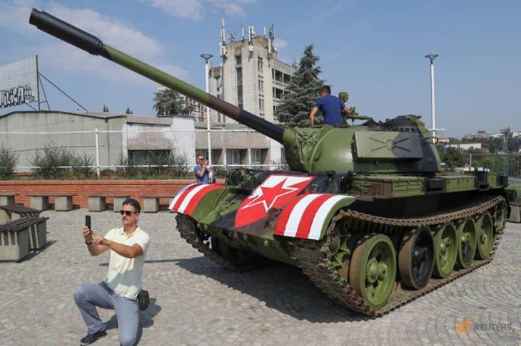 دبابة أمام الاستاد تثير غضب الكرواتيين قبل مواجهة بدوري الأبطال