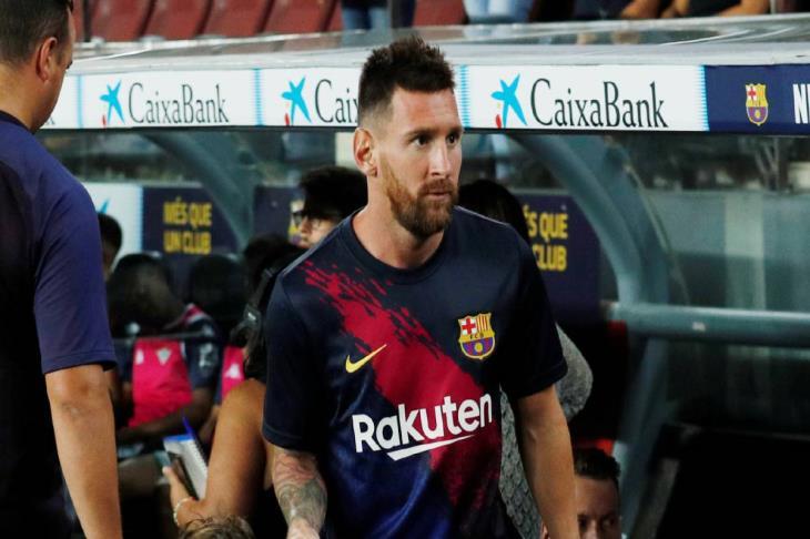 بالصور.. ميسي ينضم لتدريبات برشلونة قبل مواجهة دورتموند