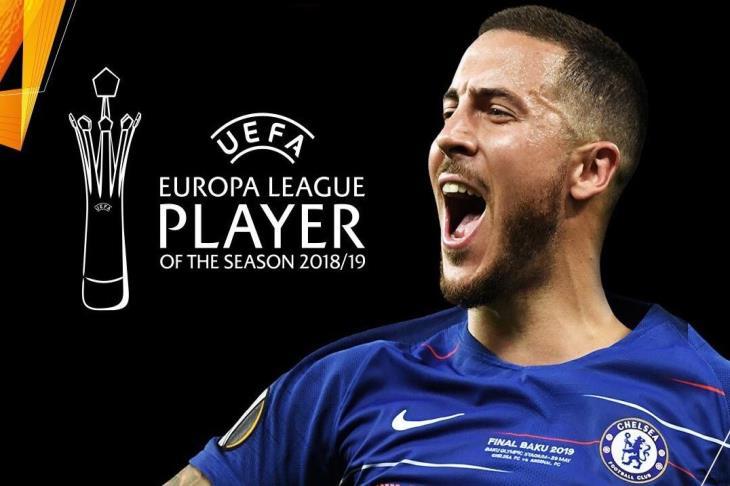 هازارد يتوج بجائزة أفضل لاعب في الدوري الأوروبي