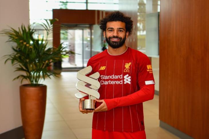 رسميًا.. صلاح لاعب الشهر في ليفربول