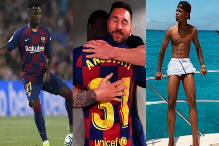 فاتي.. خليفة ميسي الذي ارتدى قميص ريال مدريد.. وناطح رقما عمره 78 عاما