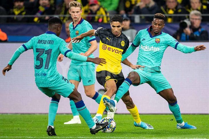 شتيجن يؤمن التعادل لبرشلونة أمام دورتموند في ليلة عودة ميسي بالأبطال