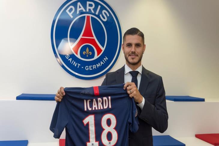 رسميًا.. باريس سان جيرمان يعلن ضم إيكاردي بشكل نهائي