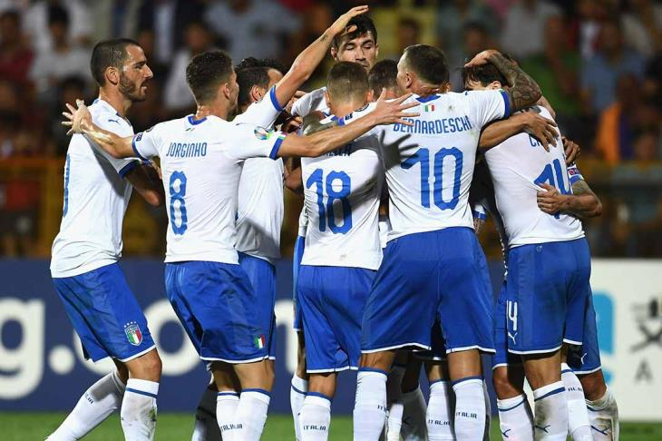 إيطاليا تسحق ليشتنشتاين في عقر دارها بتصفيات يورو 2020