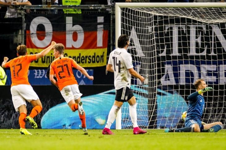 هولندا تُكدر ألمانيا برباعية في أراضيها بتصفيات يورو 2020